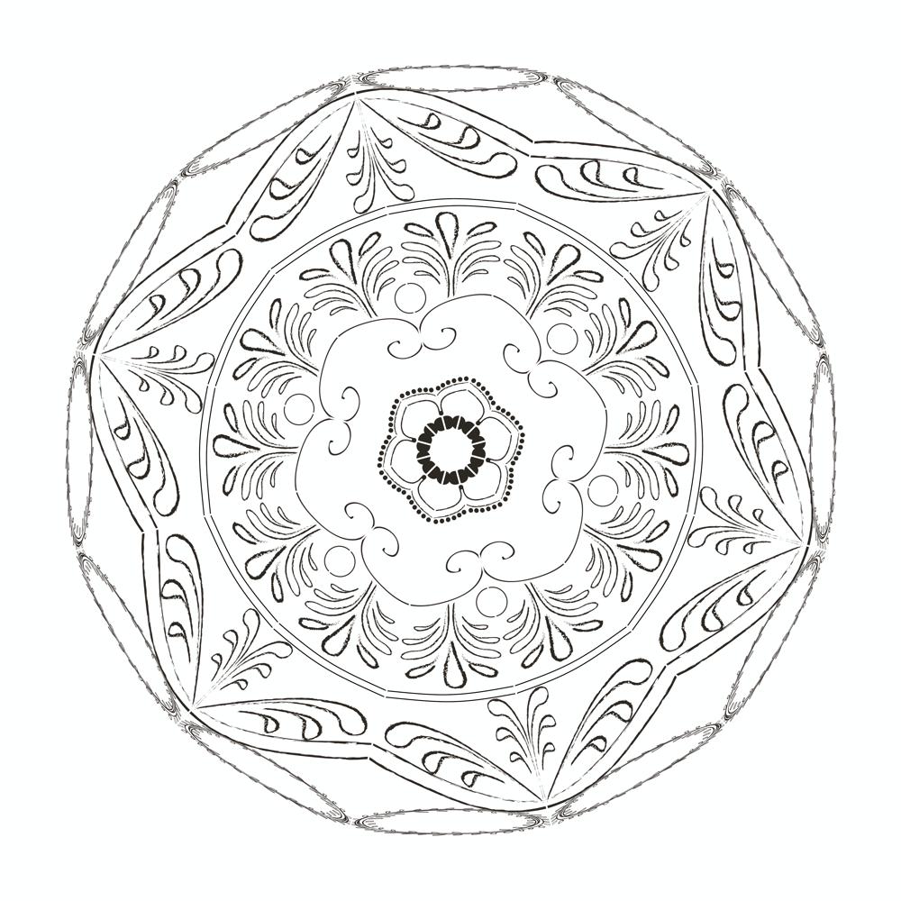 Inner Guidance Mandala - image 1 - student project