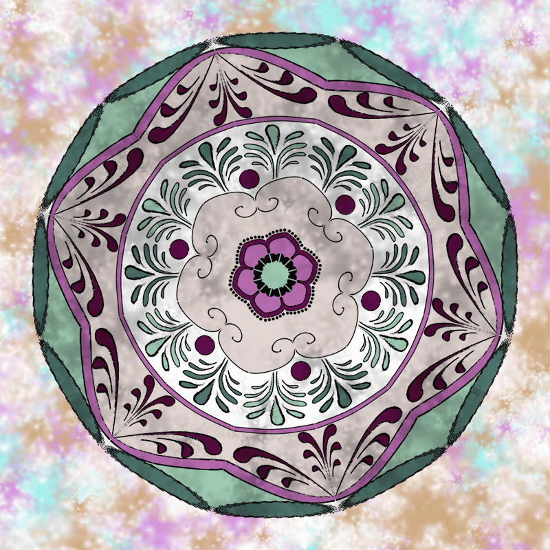 Inner Guidance Mandala - image 3 - student project