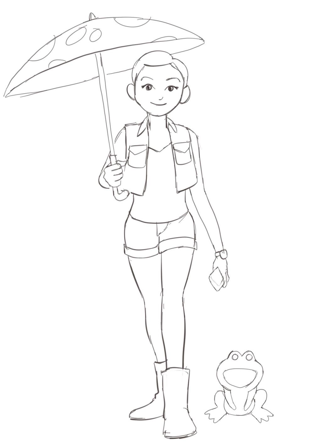 Rain Girl - image 1 - student project