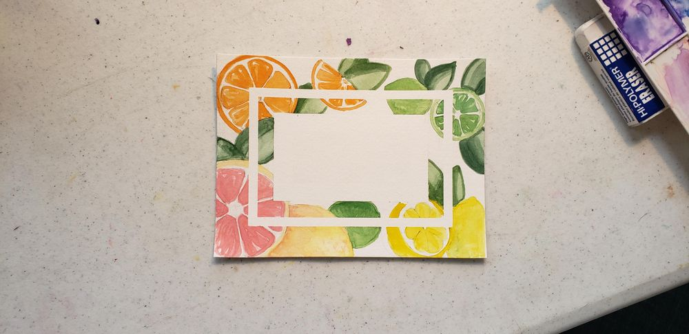 Watercolor backgrounds - image 3 - student project