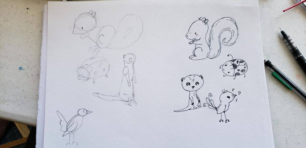 Drawing cute animals with Hay - image 2 - student project