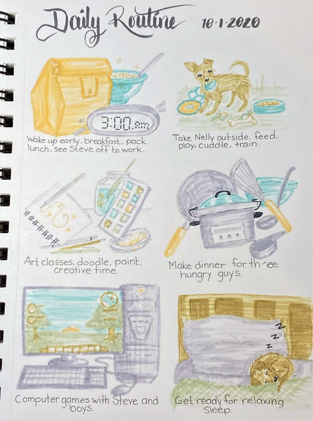 Create a Daily Art Practice 28 Day Challenge, JollyStar - image 9 - student project