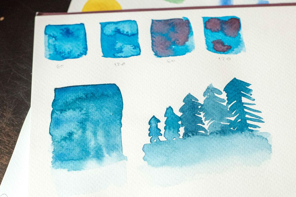 Watercolor Fundamentals - image 2 - student project