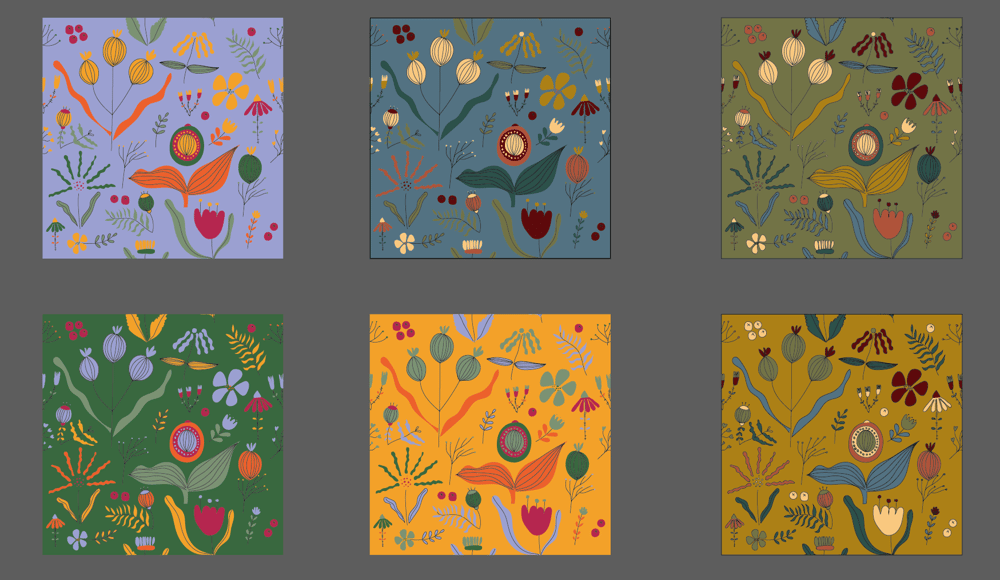 Flower Pattern - image 3 - student project