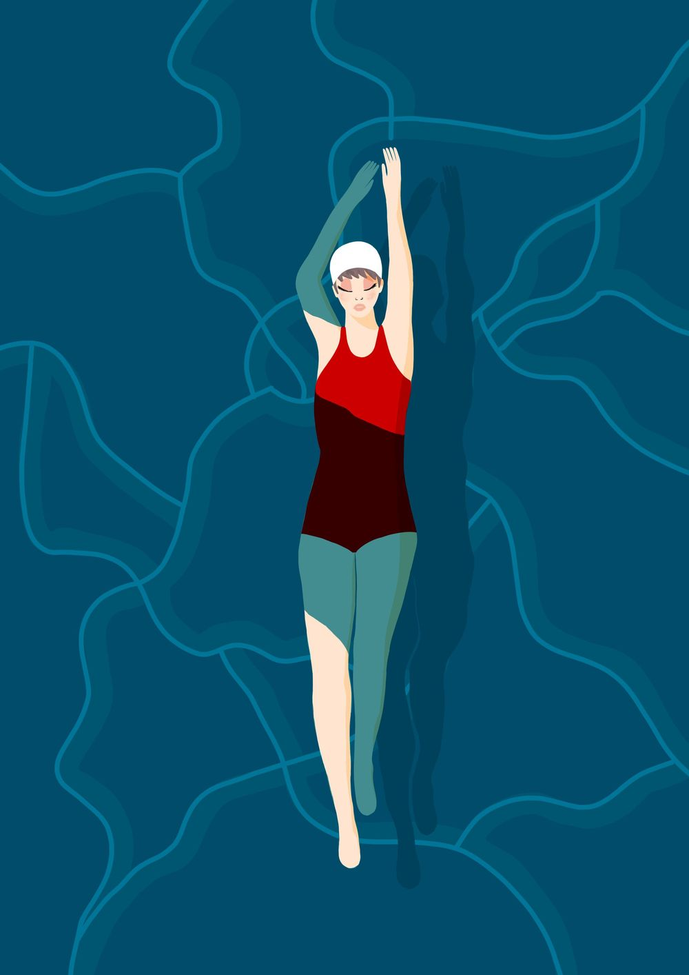 Swimmer Girl - image 2 - student project