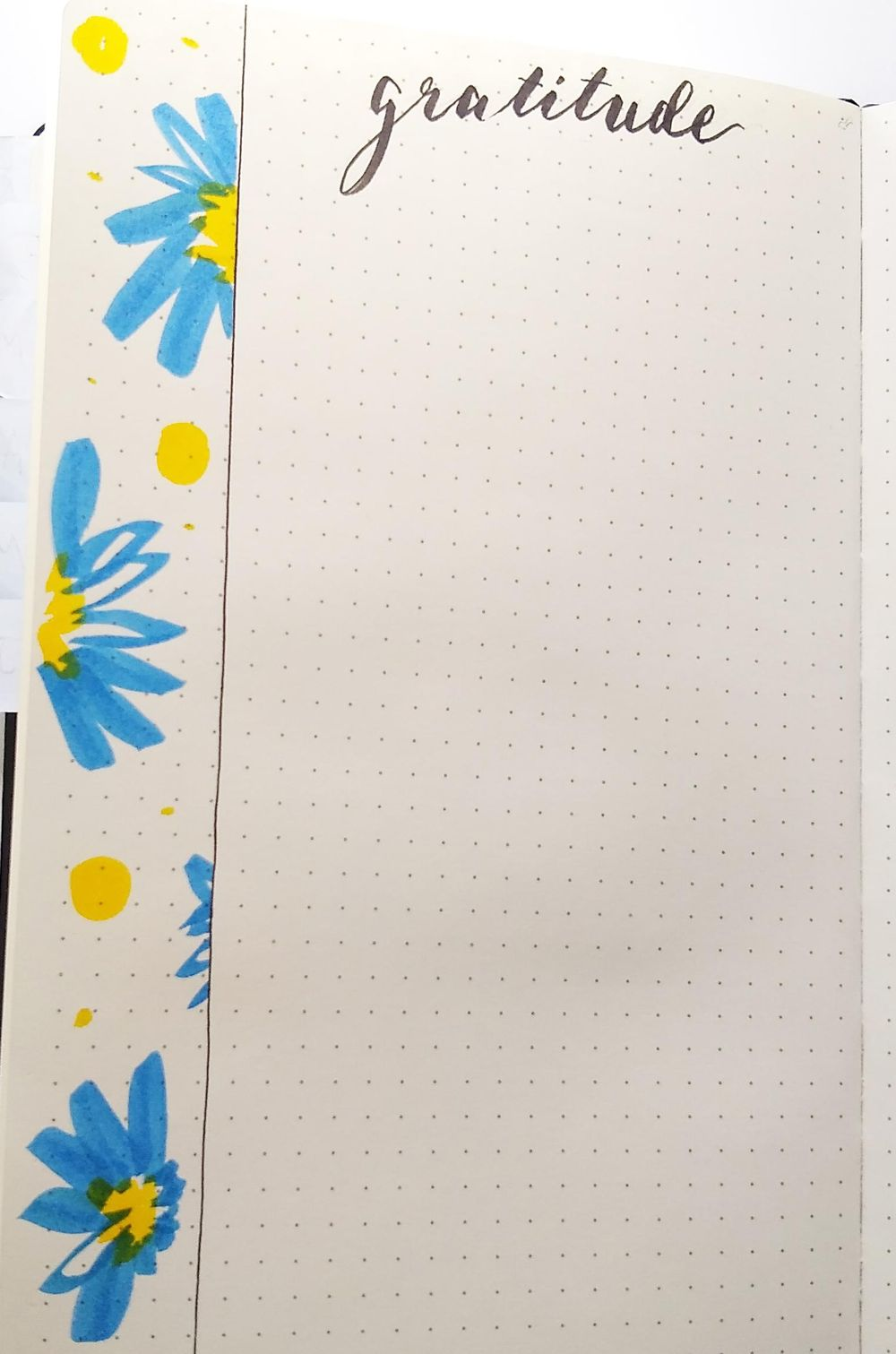 June Bullet Journal Layout - image 4 - student project