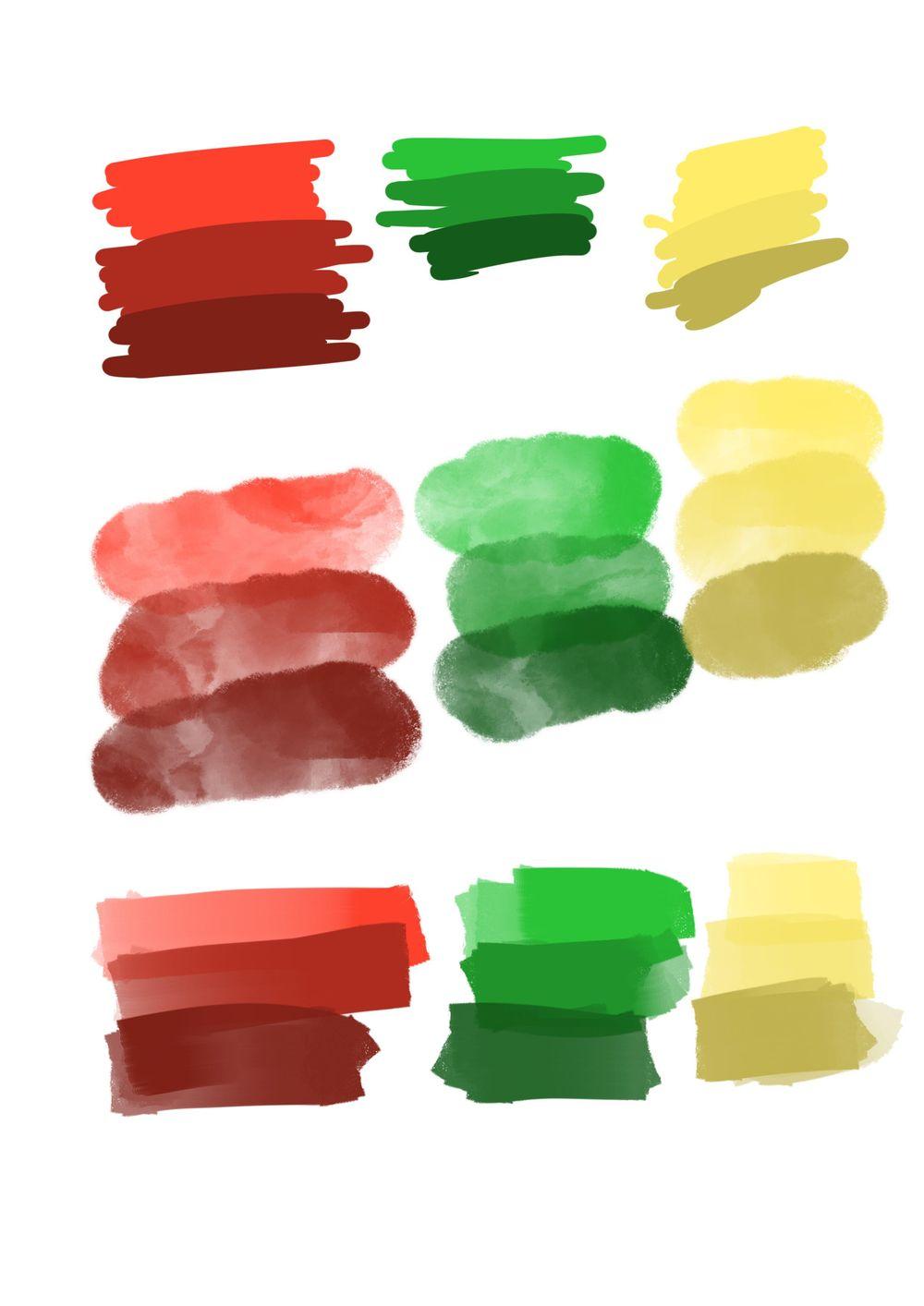 Color palettes - image 1 - student project