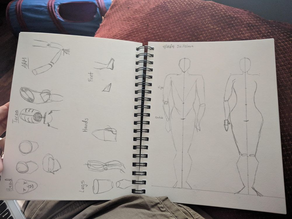 My first attempt at figure drawing. - image 2 - student project