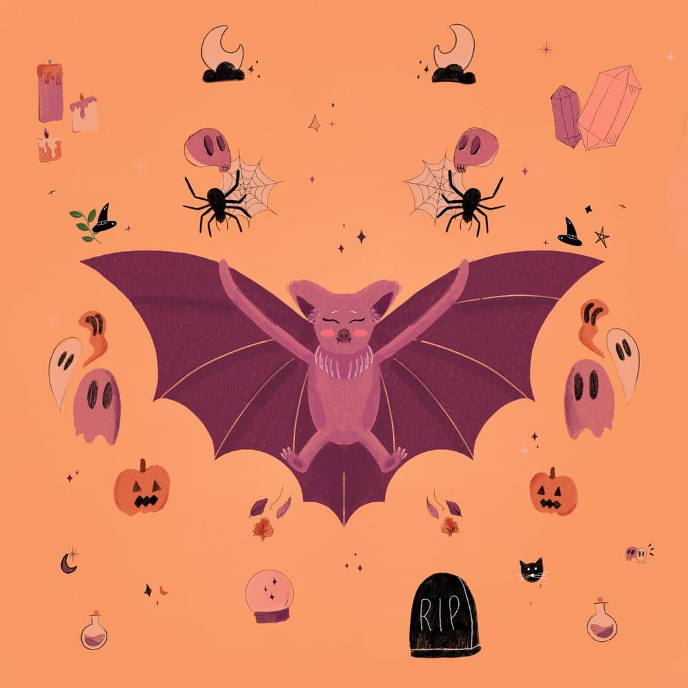 Spooky Bat - image 4 - student project
