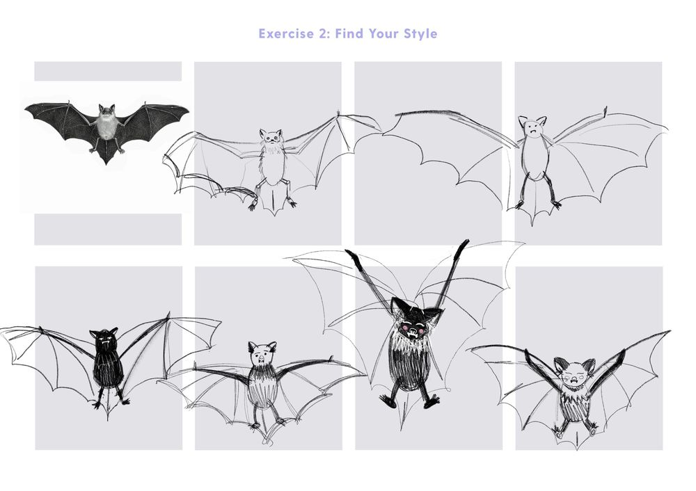 Spooky Bat - image 3 - student project
