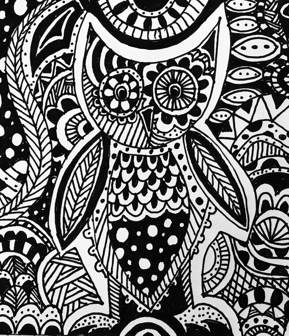 Curvy Doodle Art - image 1 - student project