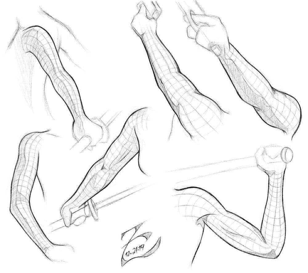 Female Arm Study - image 2 - student project