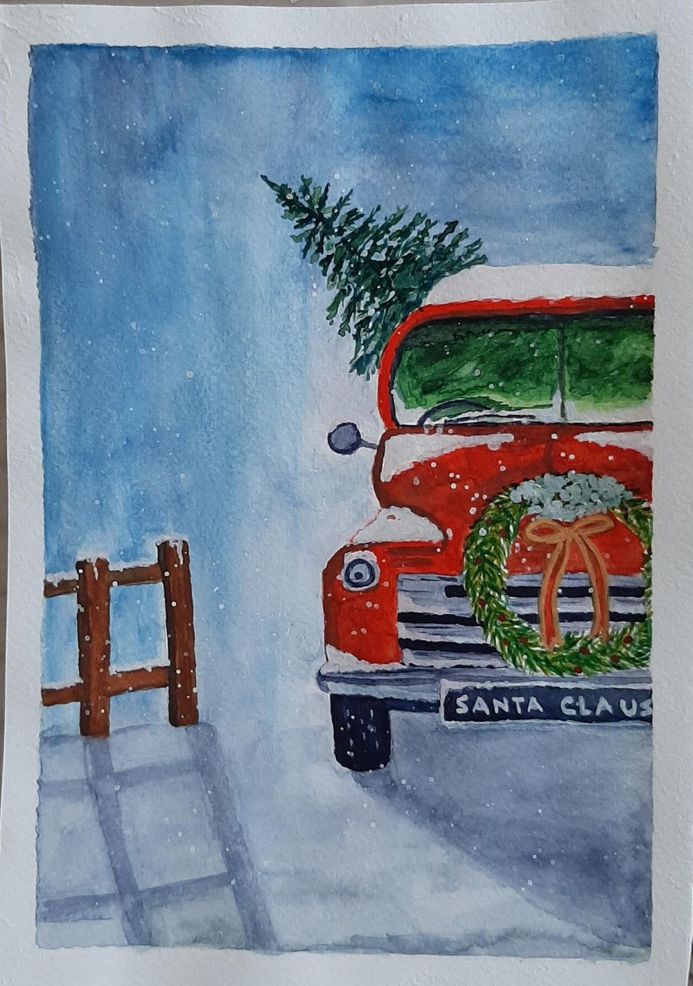 Christmas Paintings - image 2 - student project