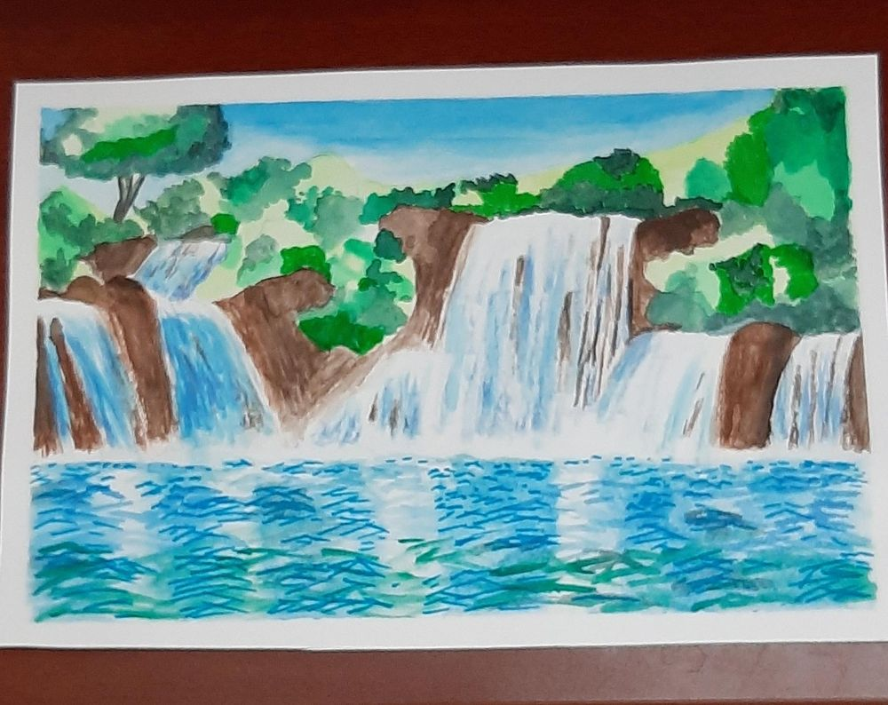 Waterfall - image 1 - student project