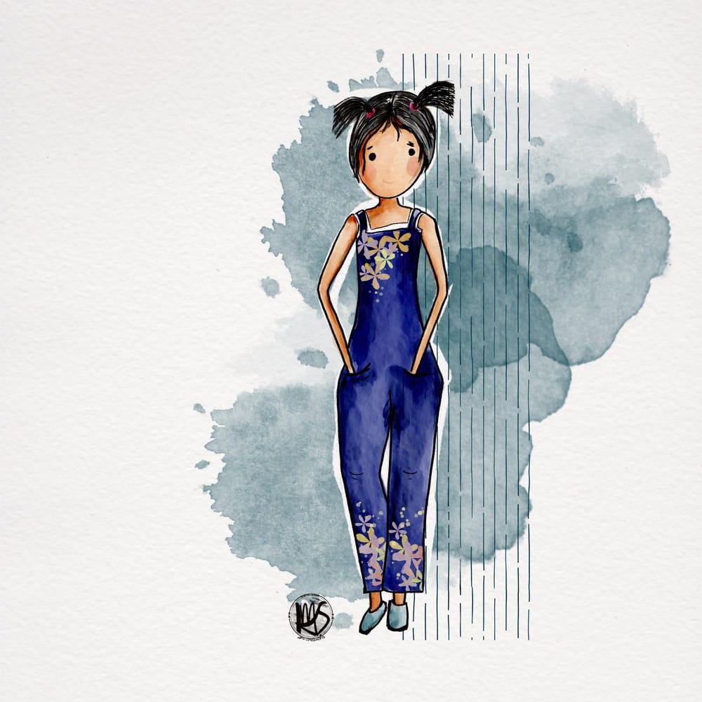 Ballerina in Purple - image 3 - student project