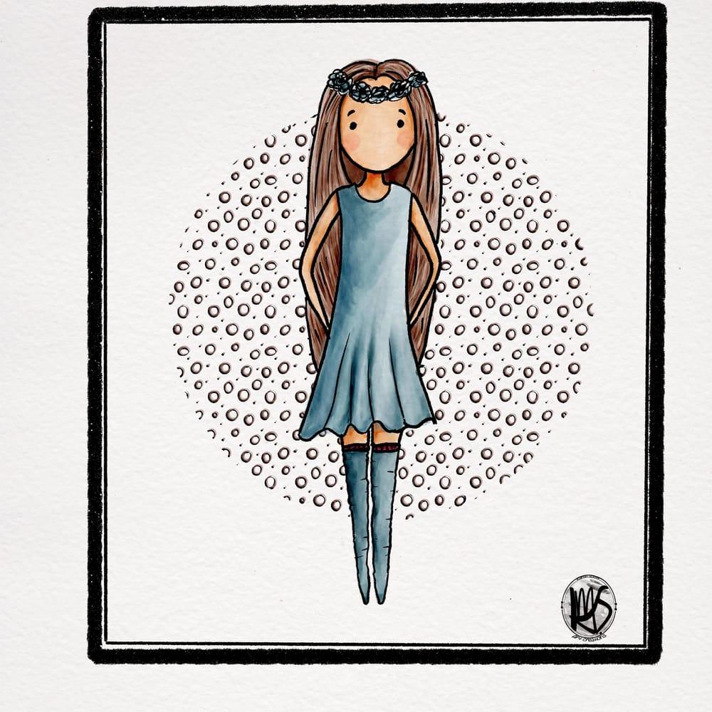 Ballerina in Purple - image 2 - student project