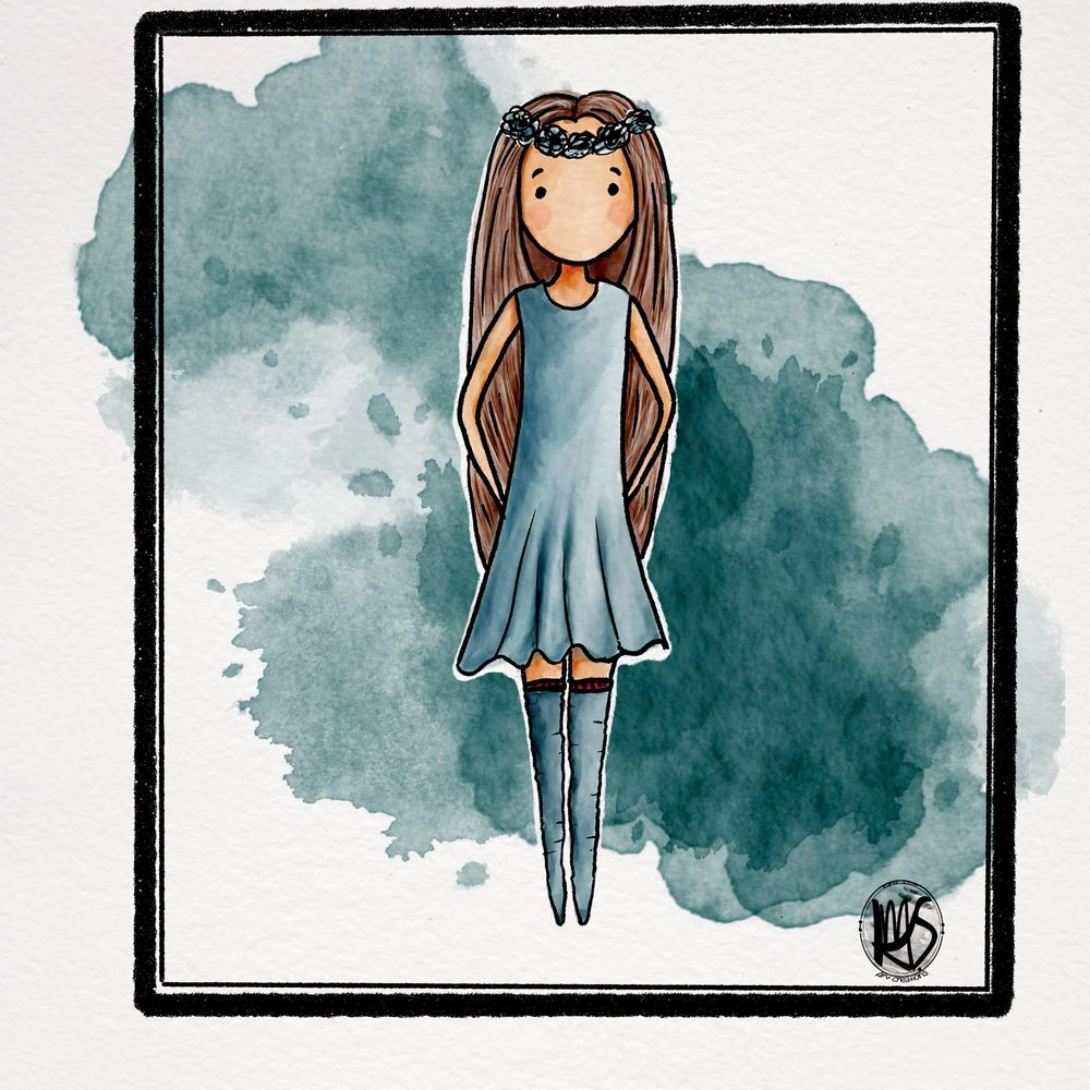 Ballerina in Purple - image 1 - student project