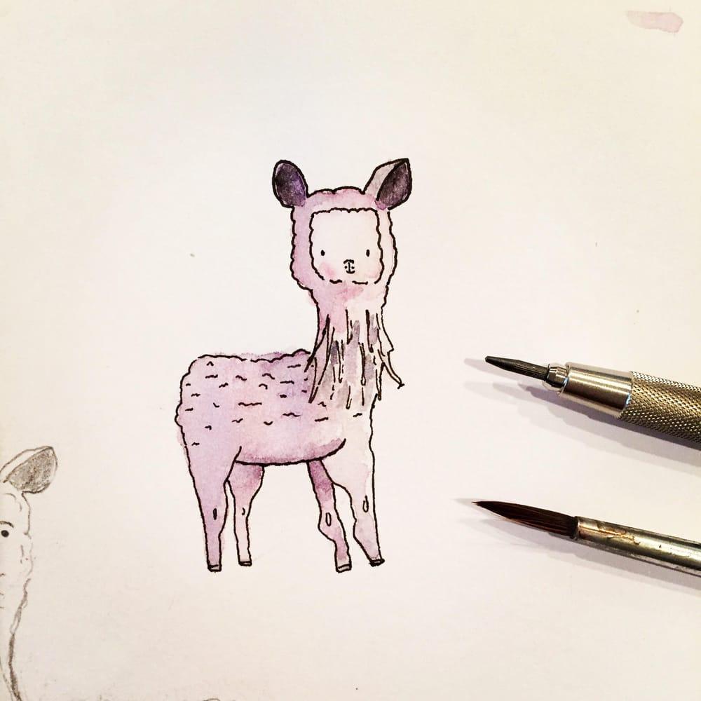 Fav Animal Sketch - image 1 - student project
