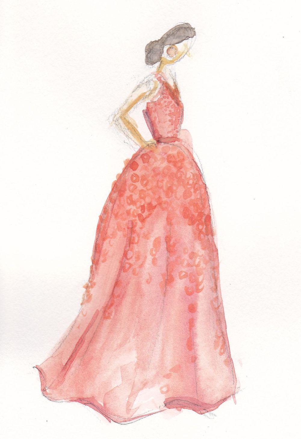 Final | Coral & Embellished - image 2 - student project