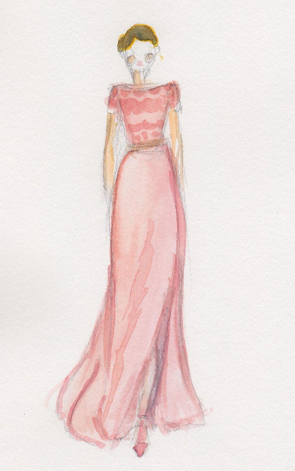 Final | Coral & Embellished - image 4 - student project