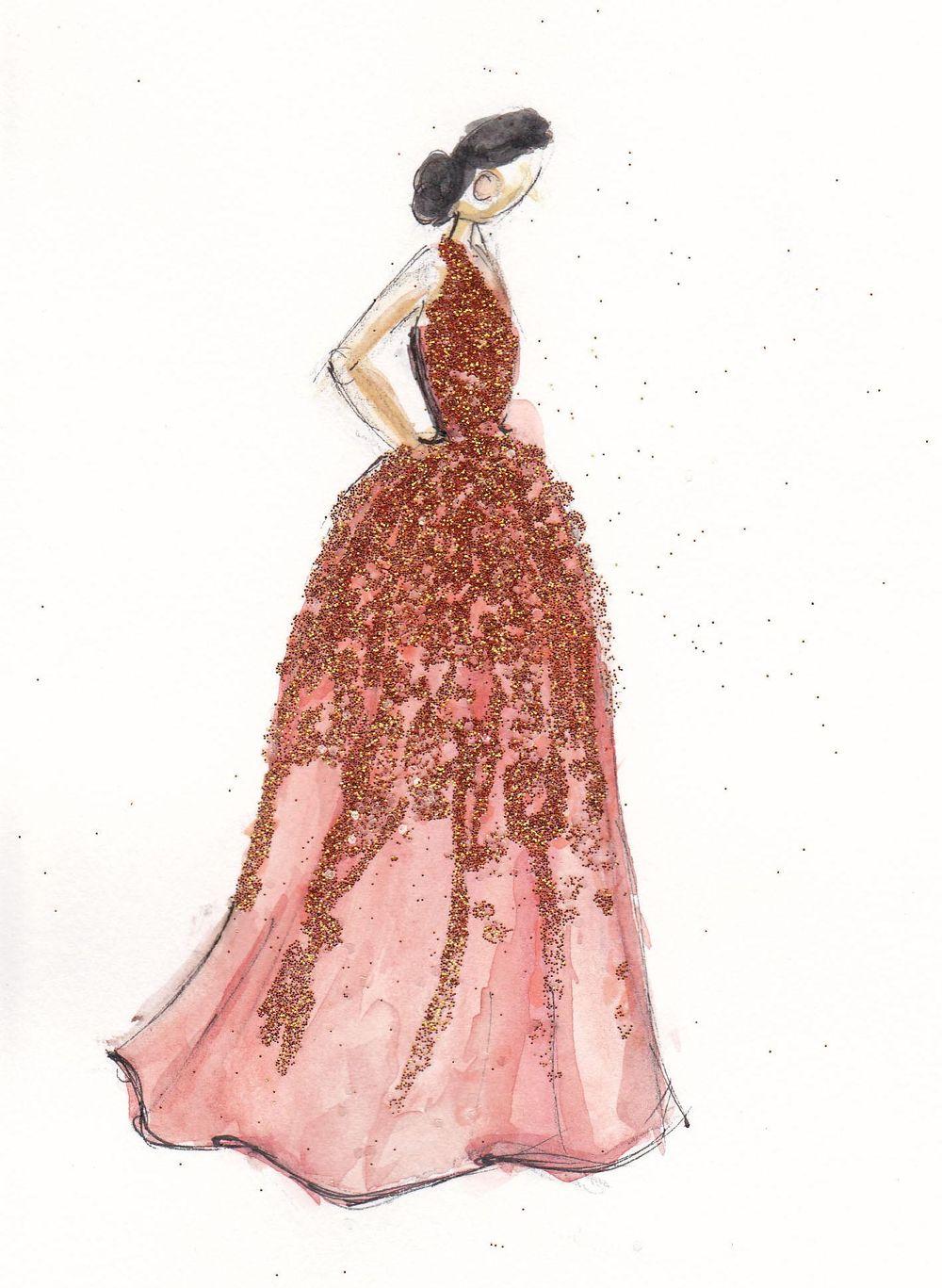 Final | Coral & Embellished - image 1 - student project