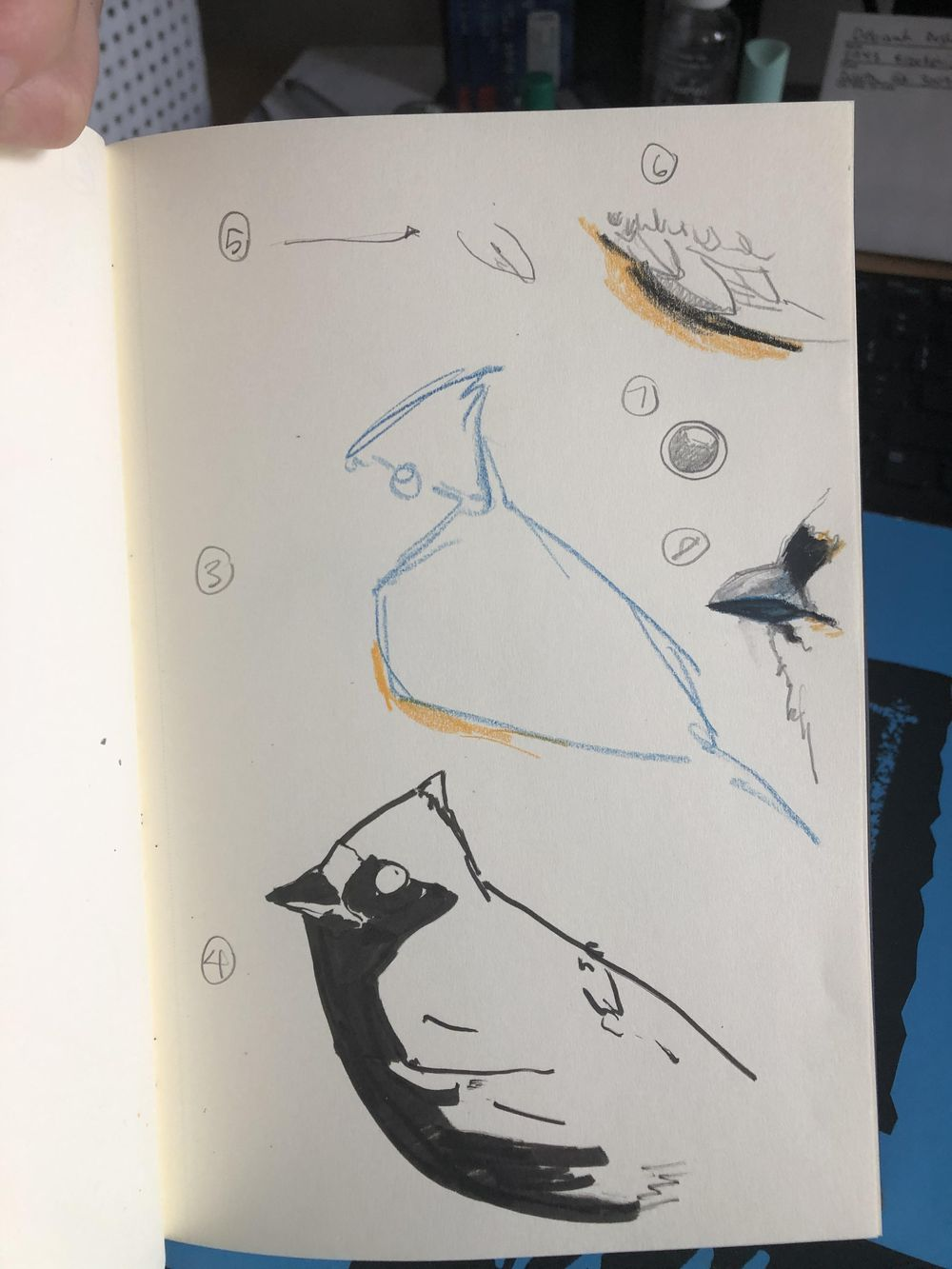 Sketchbook experiments: unknown time limits - image 3 - student project