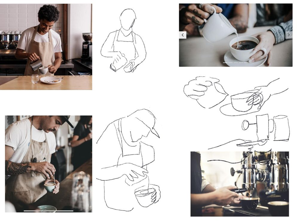 David Hockney iPad art inspiration - image 6 - student project