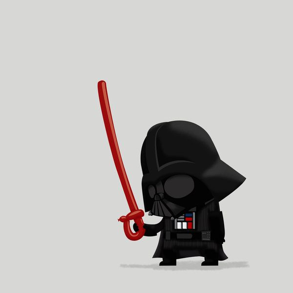 Teach me The Force*, Baby Darth. (*The Force is Illustrator, apparently.)  - image 1 - student project