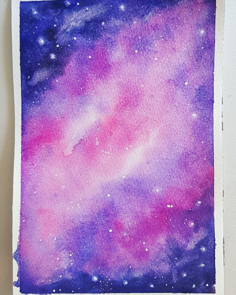 Galaxy - Watercolor - image 1 - student project