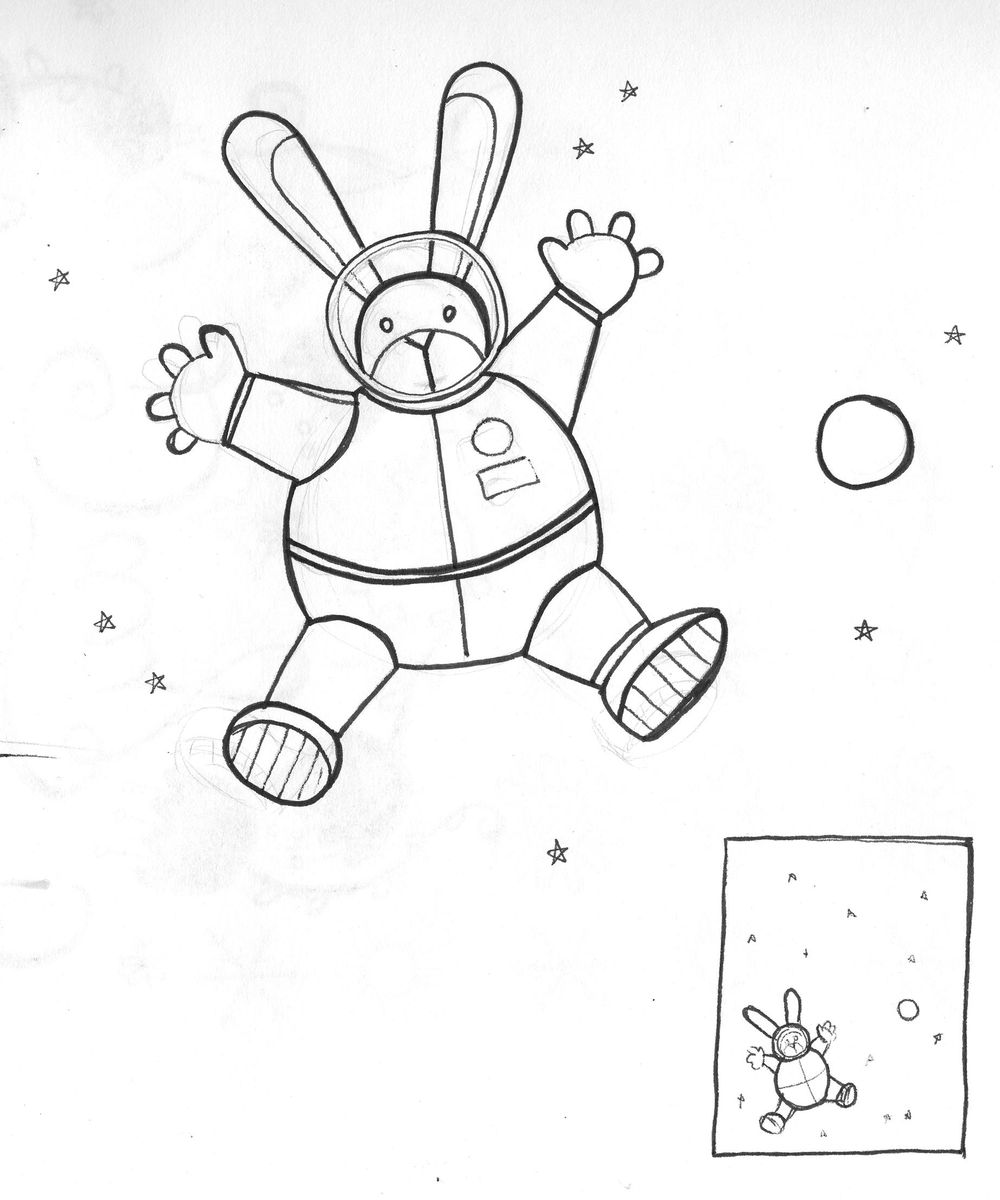 Space Bunny - image 1 - student project