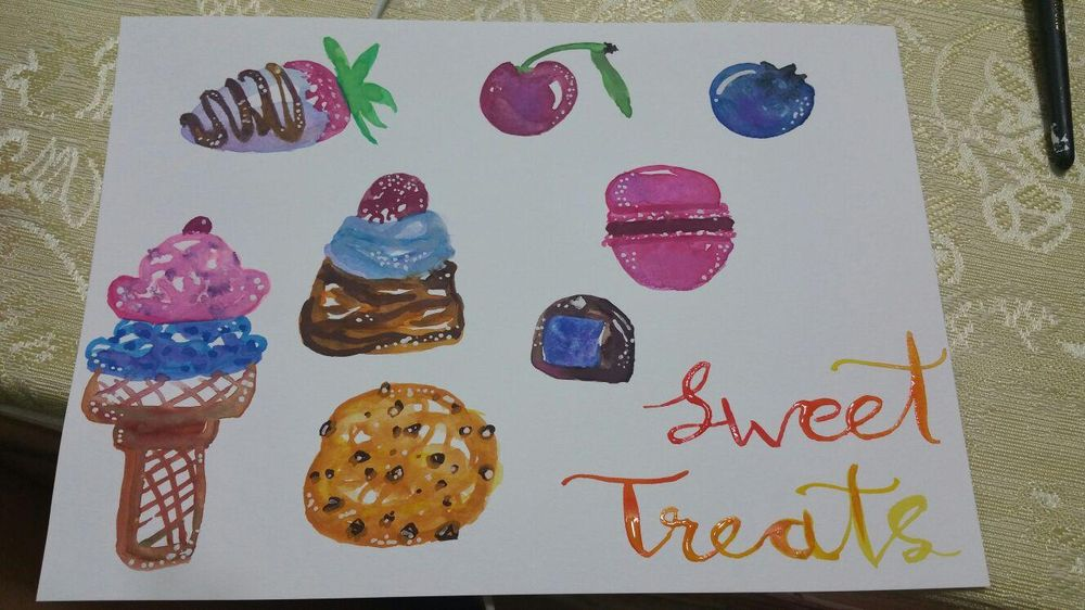 Sweet treats - image 2 - student project