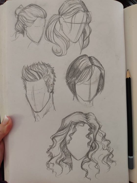 Hair - image 1 - student project