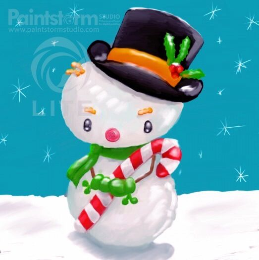 Christmas Snowman Cutie - image 1 - student project