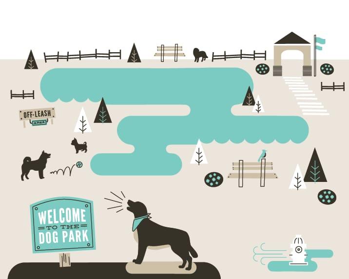 Dog Park (Quiet + Loud) - image 5 - student project