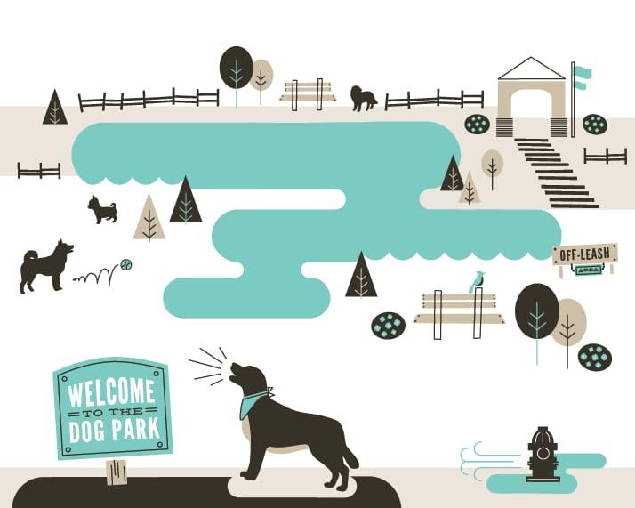 Dog Park (Quiet + Loud) - image 4 - student project