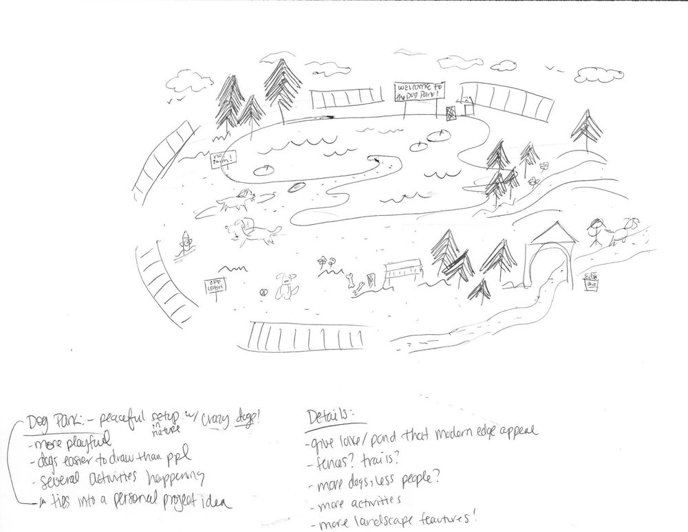 Dog Park (Quiet + Loud) - image 11 - student project