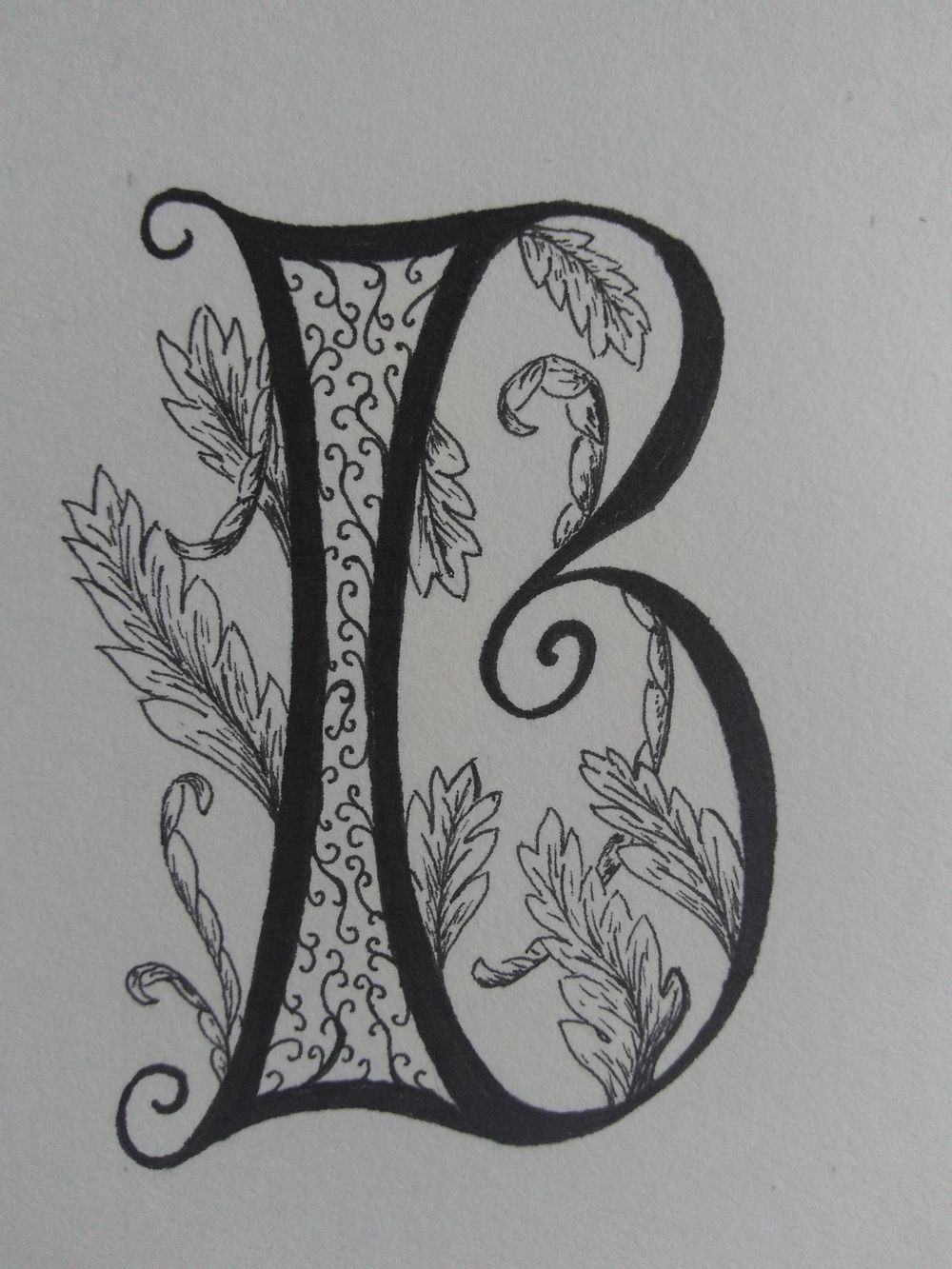 Ornamented Capitals with acanthus - image 2 - student project