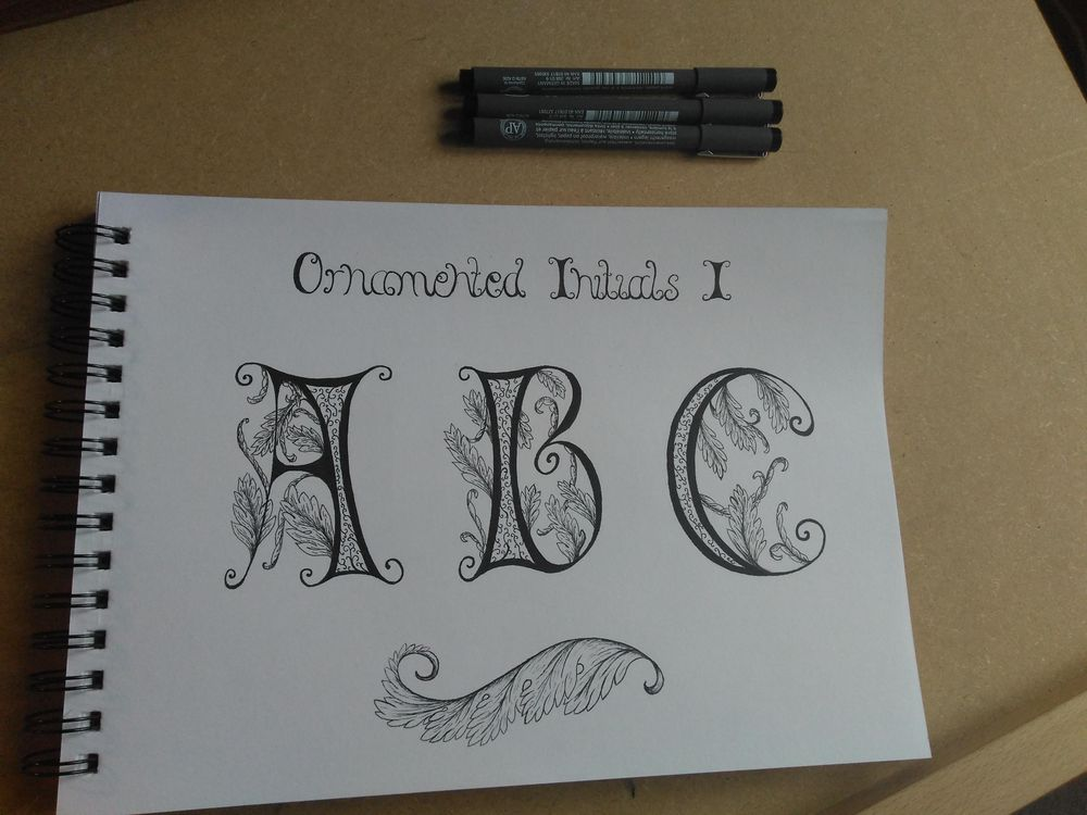 Ornamented Capitals with acanthus - image 1 - student project