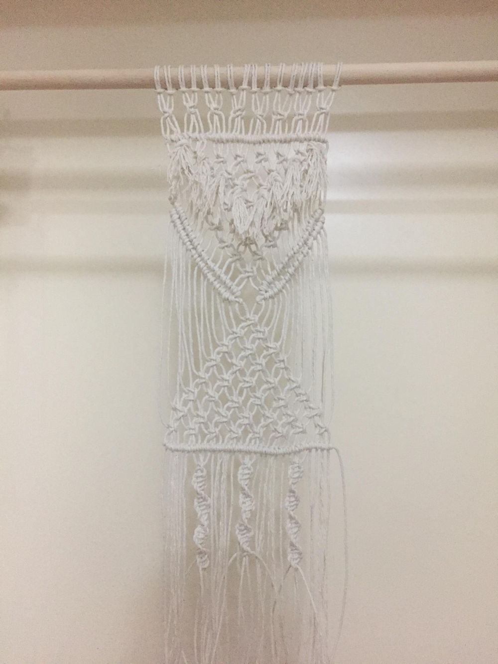 Macrame project with fringe!  - image 1 - student project
