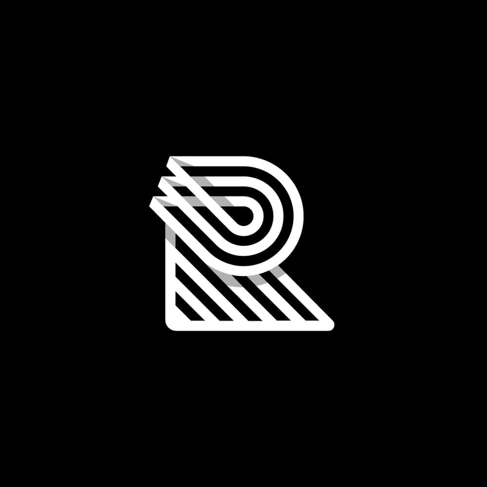 """R"" Monogram - image 2 - student project"
