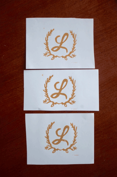 Monogram with Laurels - image 3 - student project