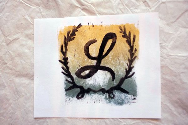 Monogram with Laurels - image 7 - student project