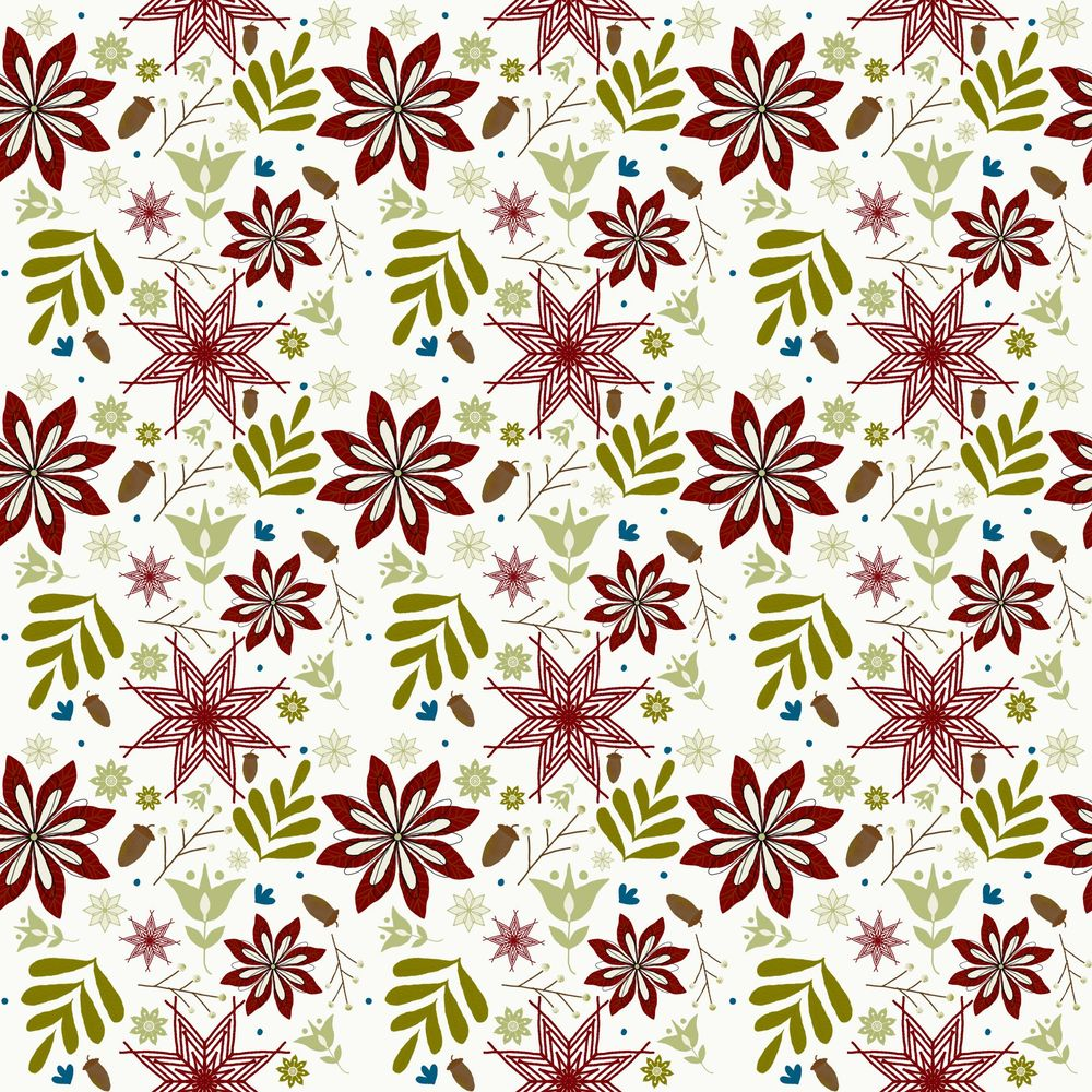 First seemless pattern - image 1 - student project