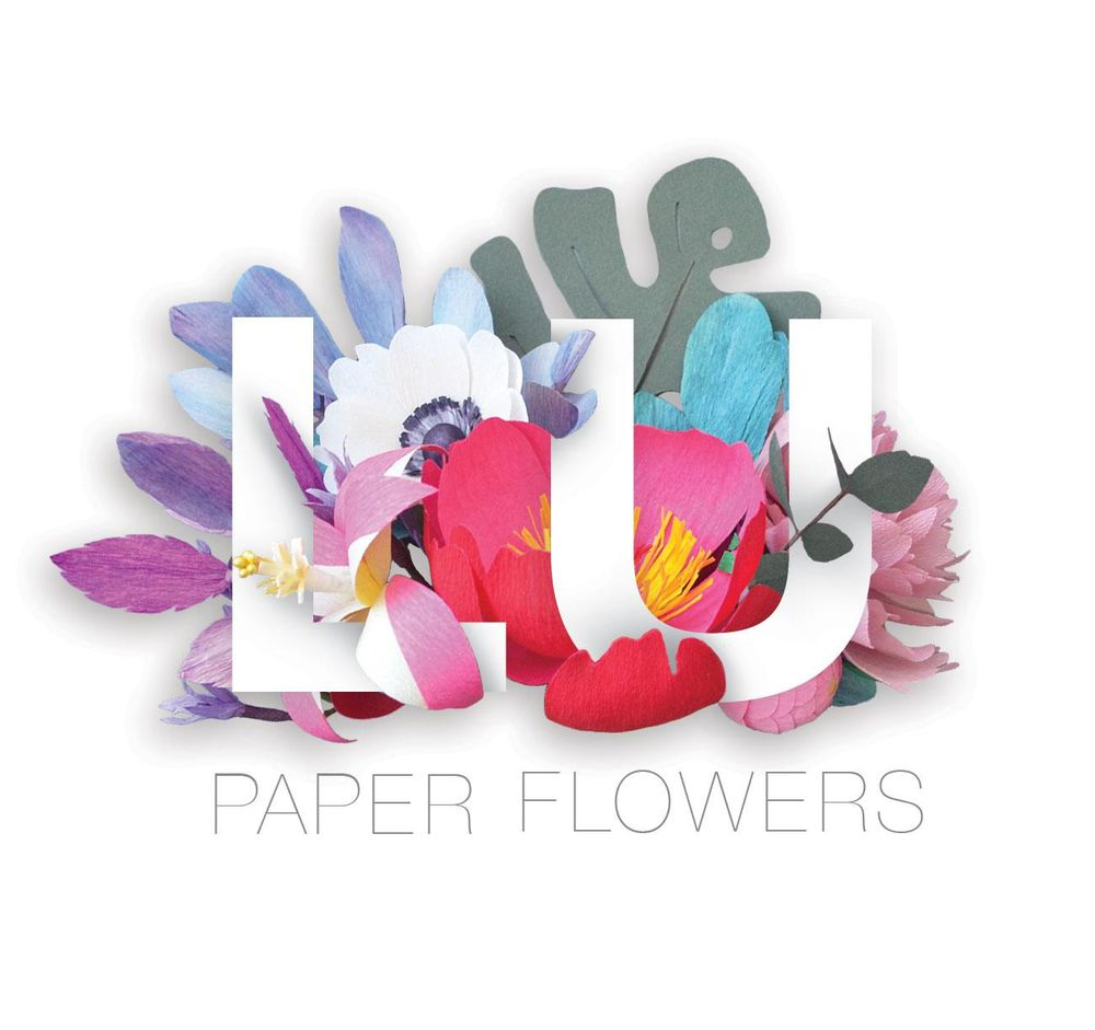 Thank you cards - Floral Typography - image 3 - student project