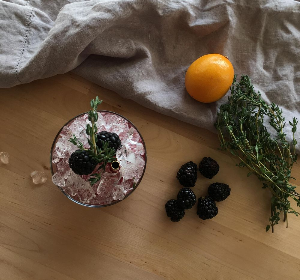 Whiskey Bramble Thyme - image 1 - student project