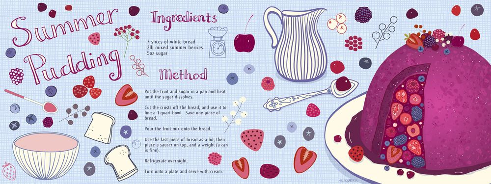 Summer Pudding - image 2 - student project