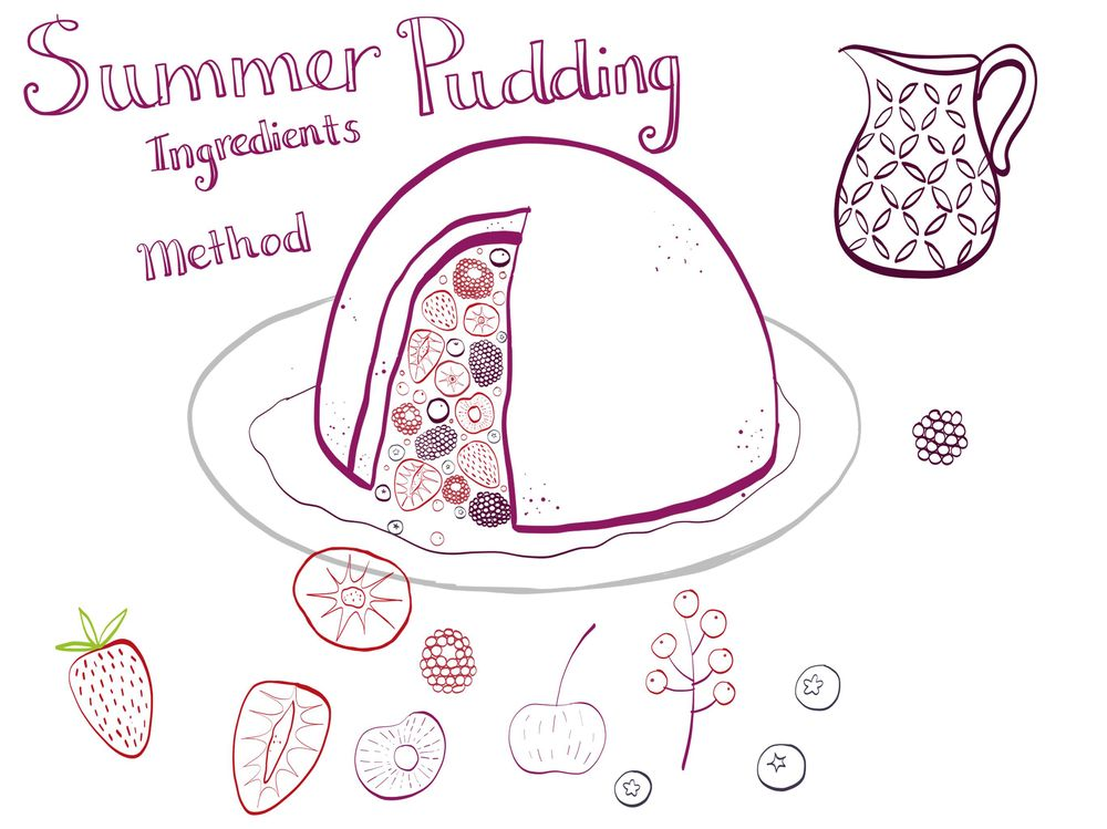 Summer Pudding - image 1 - student project