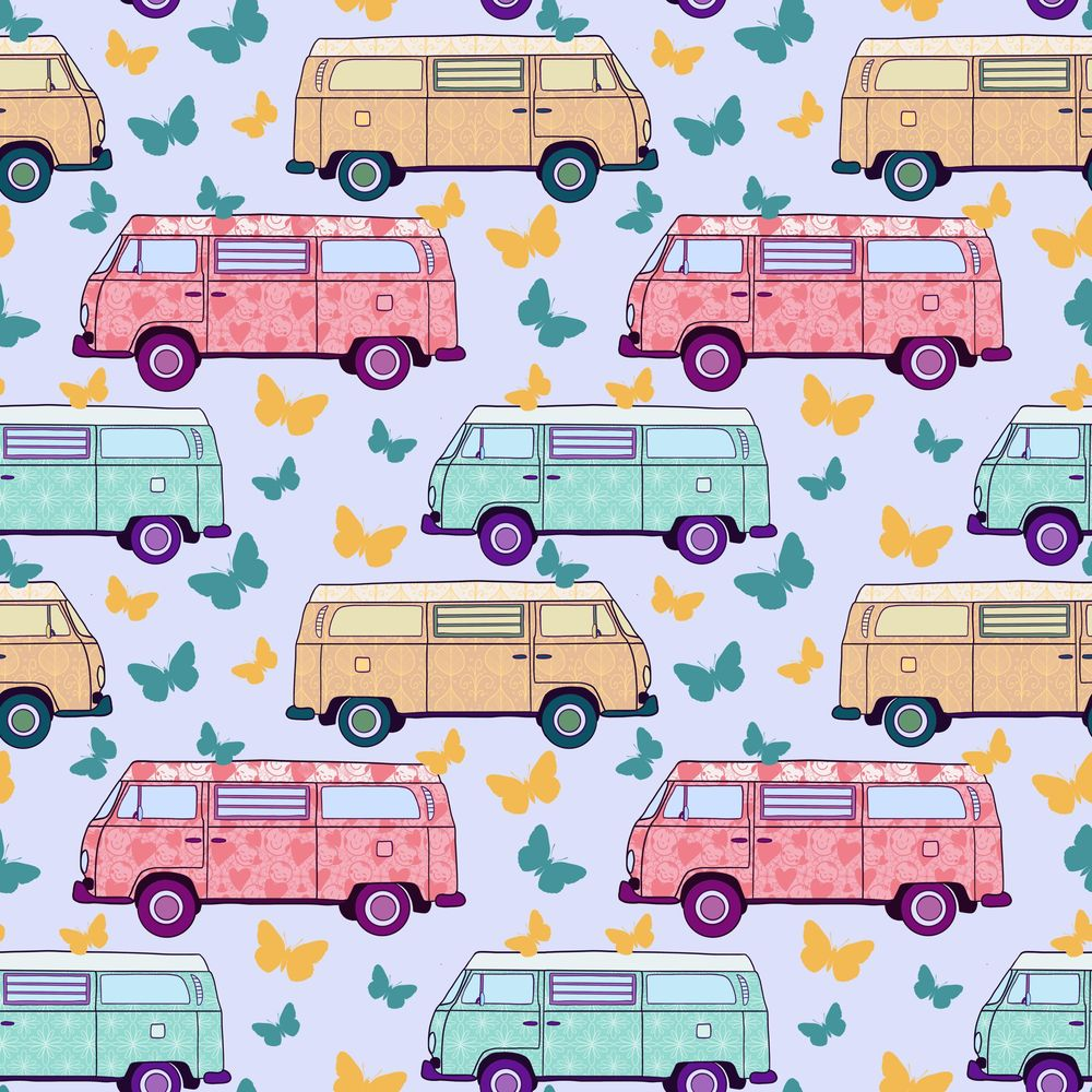 Funny retro bus - image 1 - student project