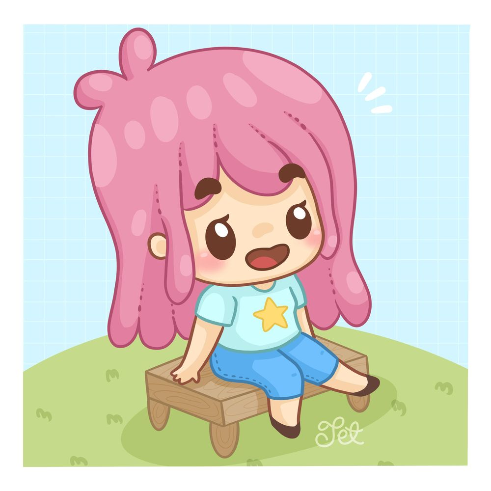 Sitting Chibis - image 2 - student project