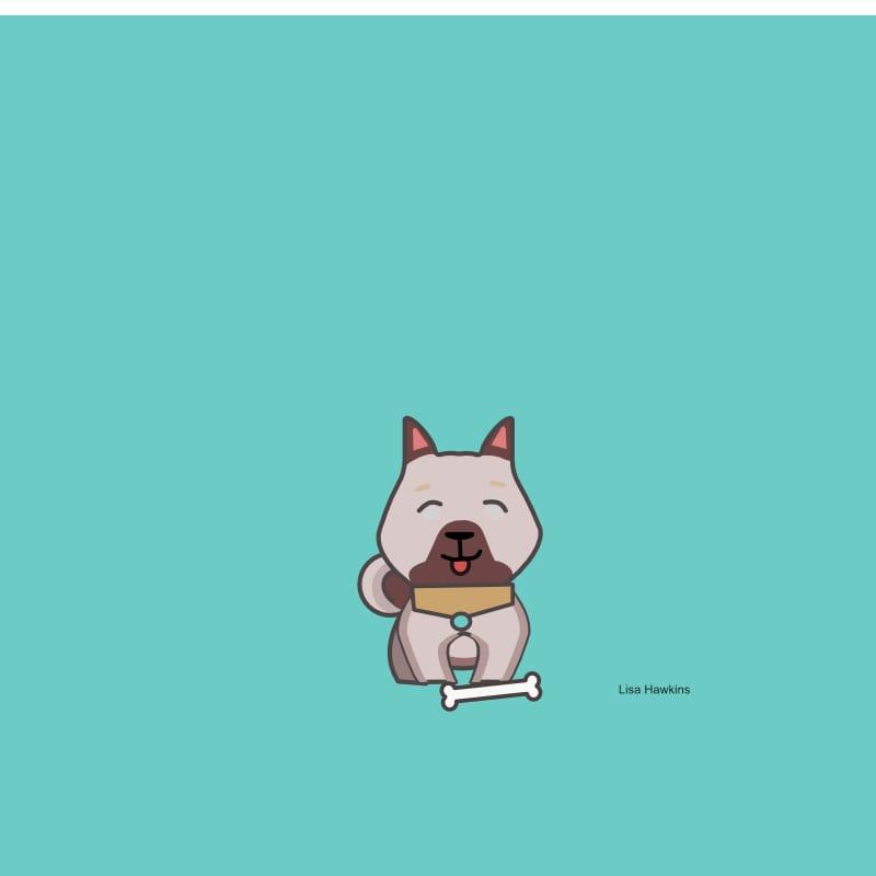 My little cartoon dog - image 3 - student project